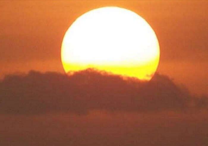 awe-inspiring sunset in Mount Abu