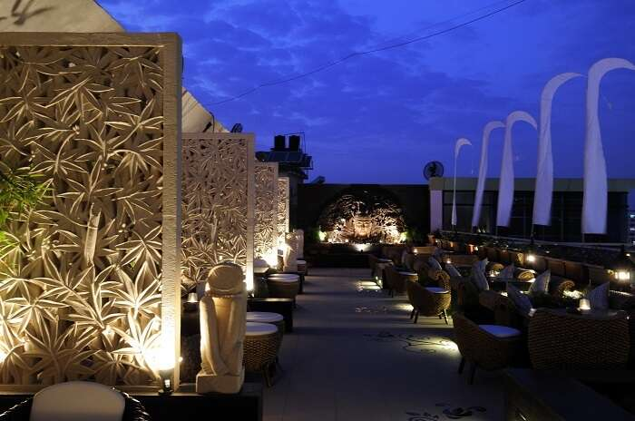The classy elegant décor of Trikaya make it of the best romantic restaurants in Pune