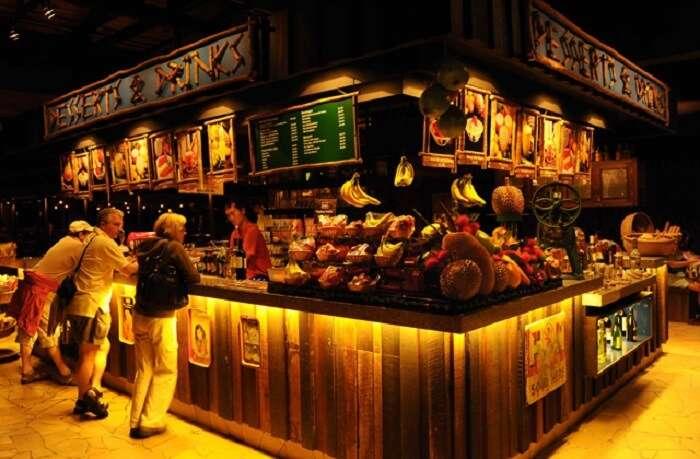 Ulu Ulu Safari Restaurant is one of the best dining options of Singapore Night Safari