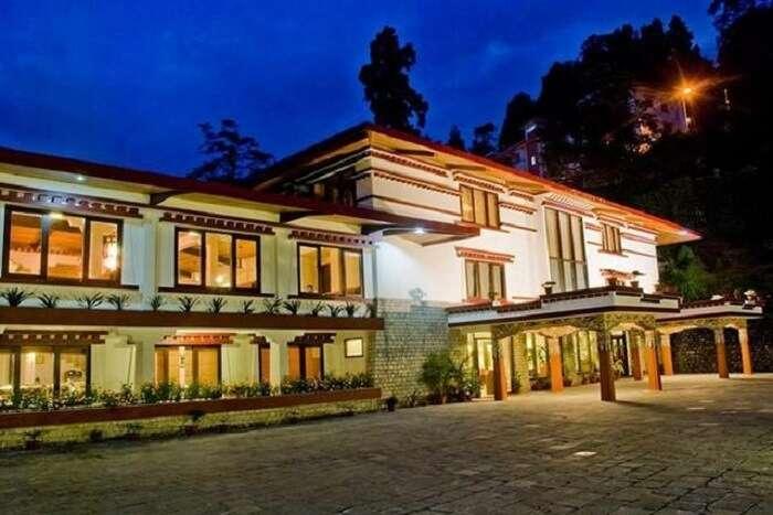 Welcomheritage Denzong Regency is a popular resort in Gangtok