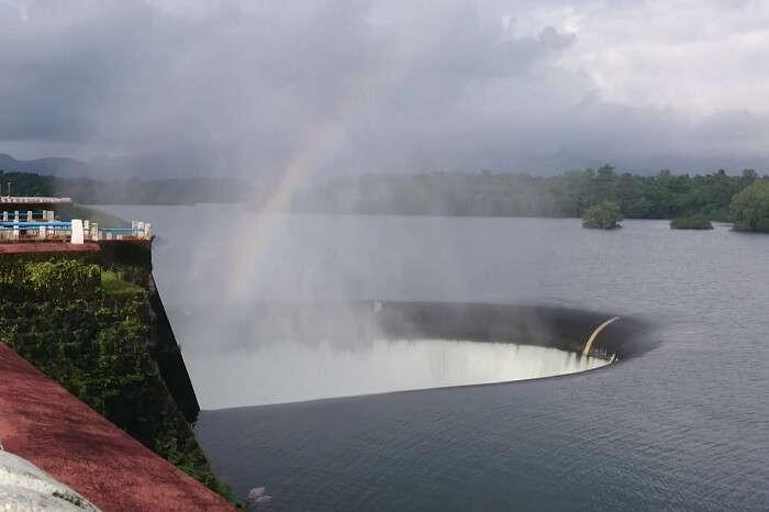 A snap of the beautiful Salaulim Dam in Goa