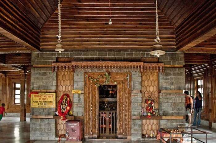Interiors of the famous Manu Temple