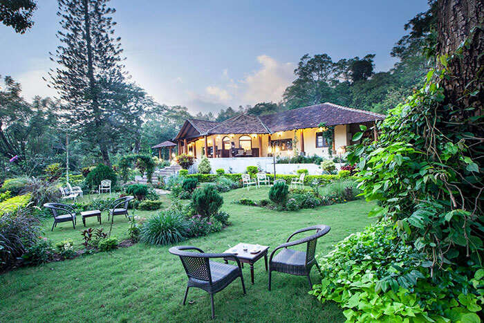 The most luxurious resort of Coorg