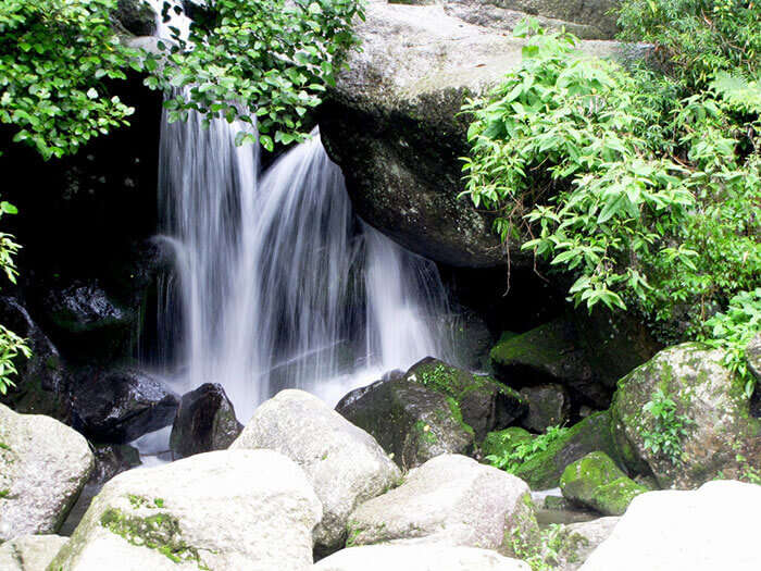 The picturesque waterfalls at Panchpula, one of the significant places to visit in Dalhousie