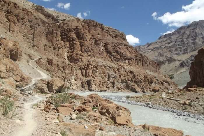 When Swati trekked here which has almost no path to walk
