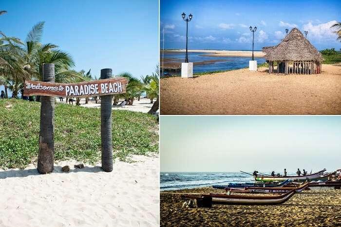Many scenes from the Paradise Beach and the Chunnambar Boat House