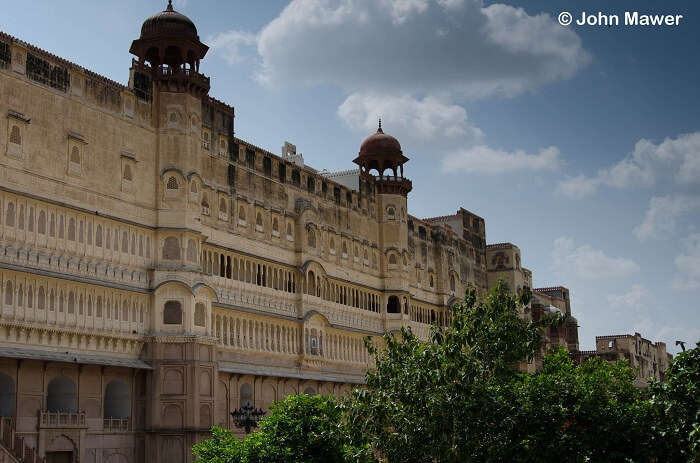 The beautifully built Prachina Museum nestled in a quiet corner of the Junagarh Fort