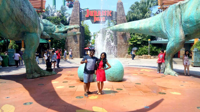 Visit to Jurassic Park in Singapore