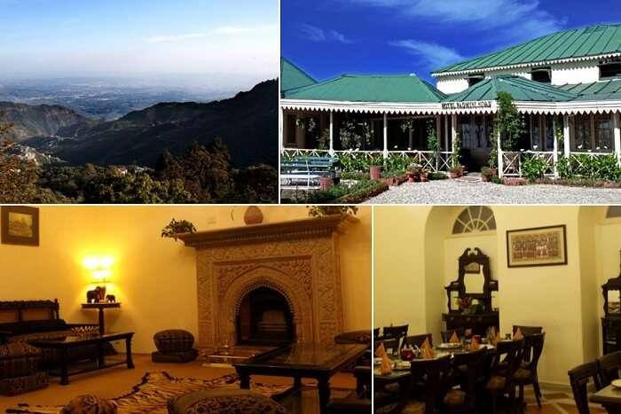 Many views from the Hotel Padmini Nivas in Mussoorie