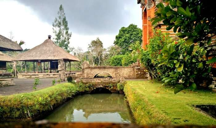 Beautiful temples of Bali