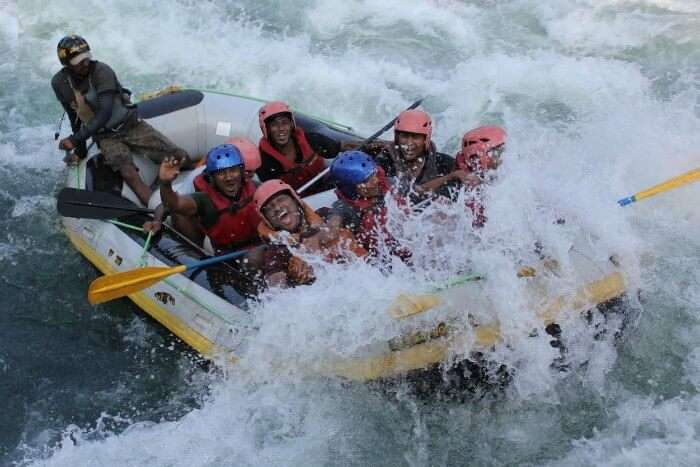 Feel the adrenaline pump as you try river rafting in Rishikesh