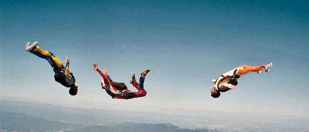 Go skydiving with your friends in Spain