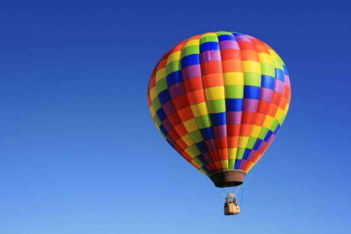 Hot air ballooning in Rishikesh