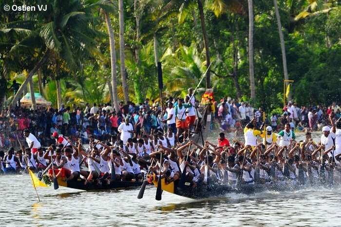 The popular snake boat race in Nehru Trophy