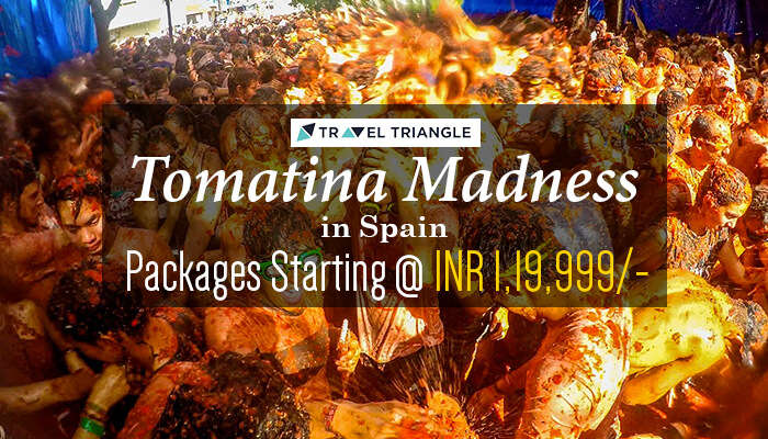 Travel to Spain for the Tomatina festival and more fun.