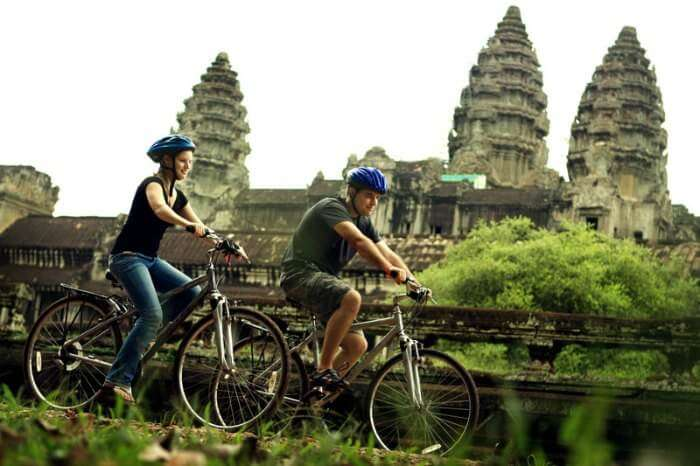 Cycling in Cambodia is one of the best things to do for sightseeing