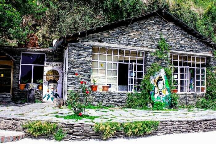 The picturesque Shiva Cafe in McLeodGanj