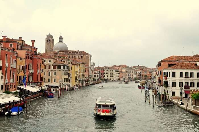 Scenic Backdrop in Venice