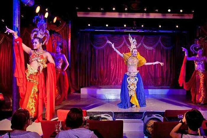 The famous Paris Follies Cabaret Show that is one of the highlight of the Koh Samui nightlife