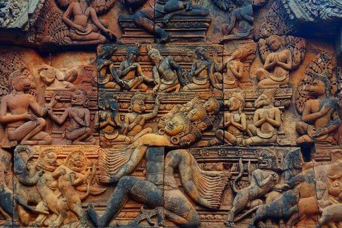 Check out the stunning Khmer artwork in Cambodia to get acquainted with Cambodia's rich history
