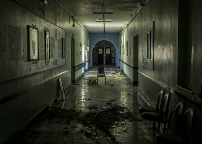 Spooky Victorian Hospital