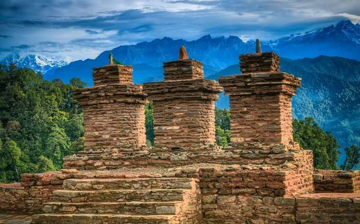 Dive into the olden days while in Rabdentse Ruins, one of the best places to visit in pelling