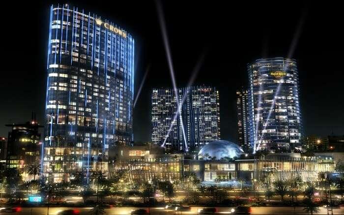 City of Dreams at night