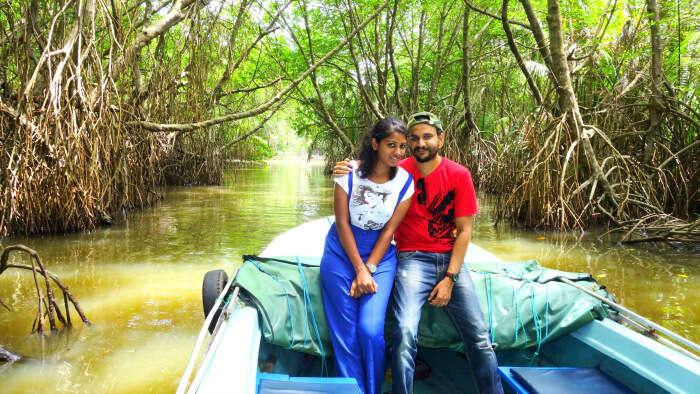 Crocodile Boat Ride in Bentota