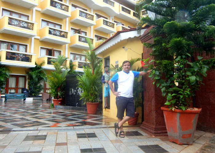 Rajiv Jain in De Alturas Resort