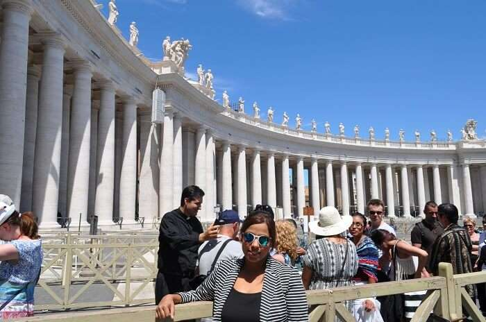 Shreshth and family during a Full Day tour of Rome