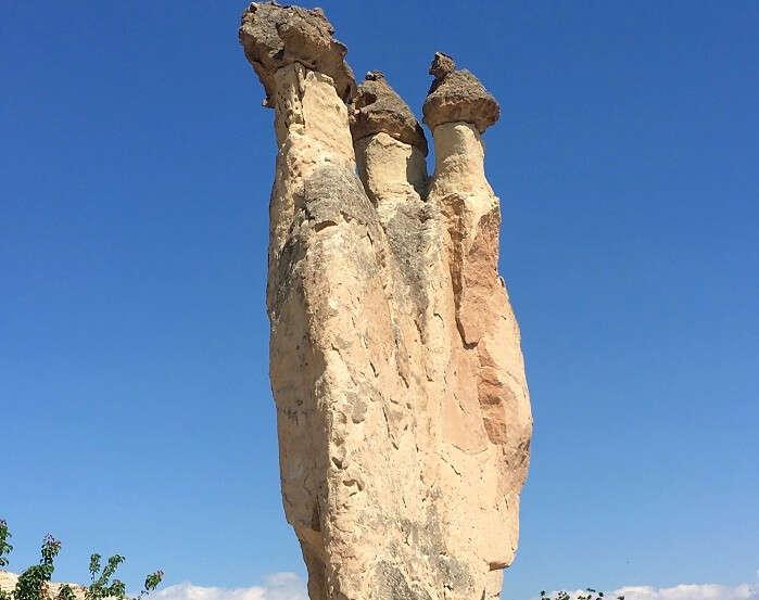 Beautiful Fairy Chimneys in Cappadocia