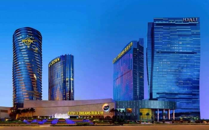 : Located in the bustling City of Dreams, The Grand Hyatt is where youll find sheer comfort and world-class luxury