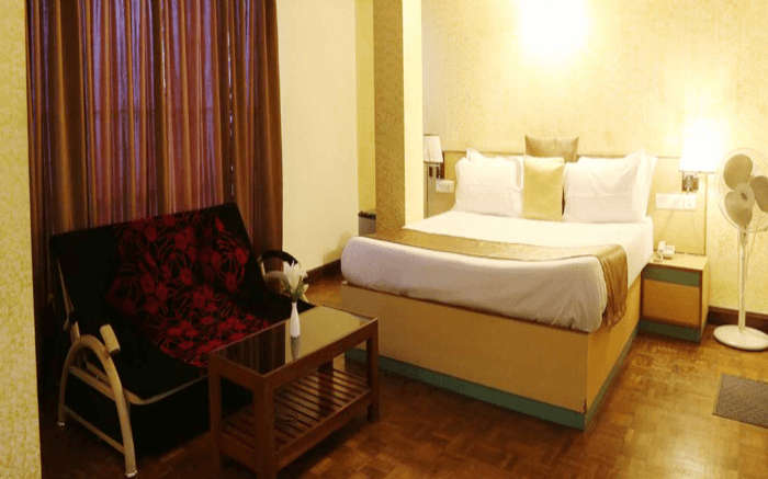 Enjoy a comfortable stay at Hotel Mayur in Gangtok that has airy and spacious rooms