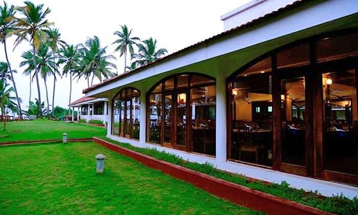 Side facade of Hotel Samudra - One of the best 4-star resorts in Kovalam