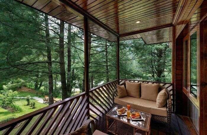 Monsoons at Senator Pine & Peak cottages in Kashmir