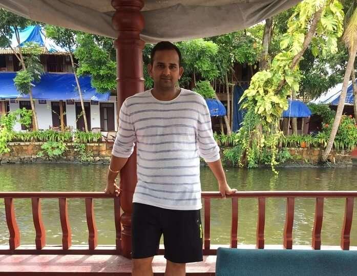 Backwaters ride in Kerala
