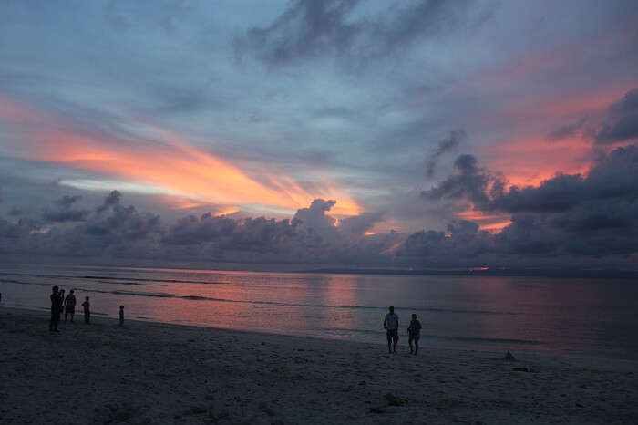 Laxmanpur Beach in all it's beauty at dusk