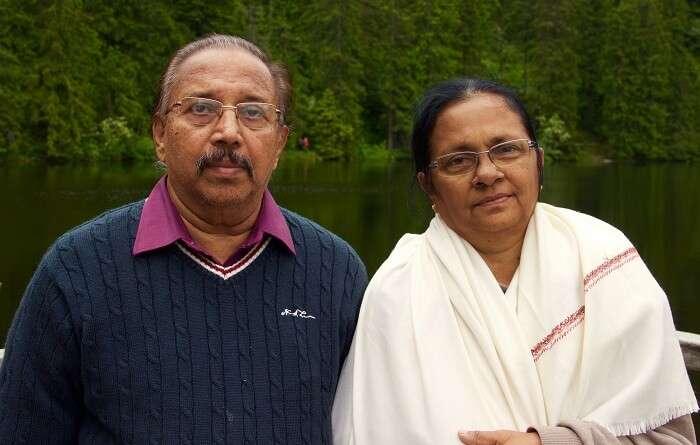 Jeevan's Parents in Germany
