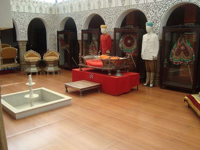 Some exhibits on display at Kangra Art Museum in Dharamshala
