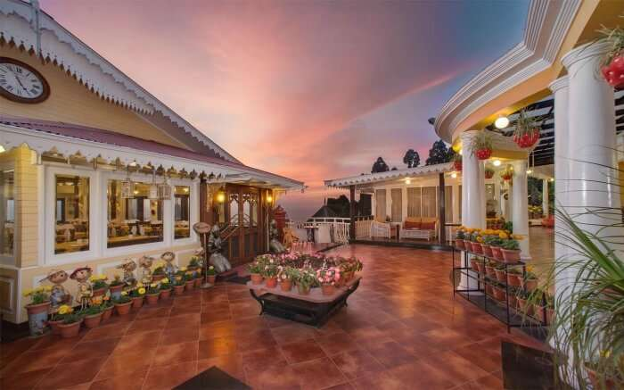 Mayfair is the best among the top resorts in Darjeeling