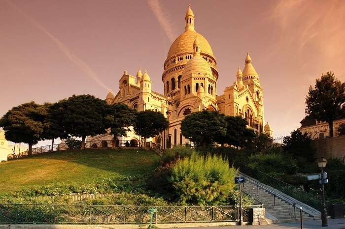 The highland of Montmartre is one of the best tourist places in Paris