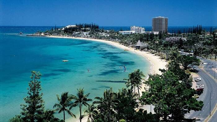 The beautiful capital of French Territory - Noumea in France