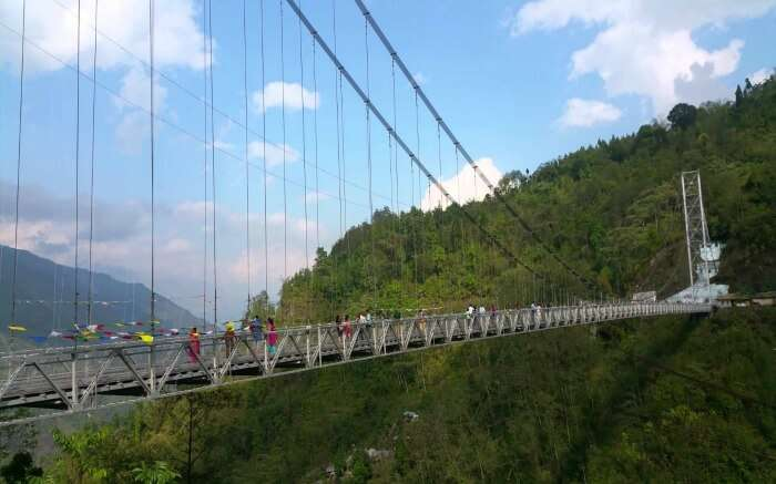 Enjoying views from Singshore Bridge is surely among the best things to do in pelling