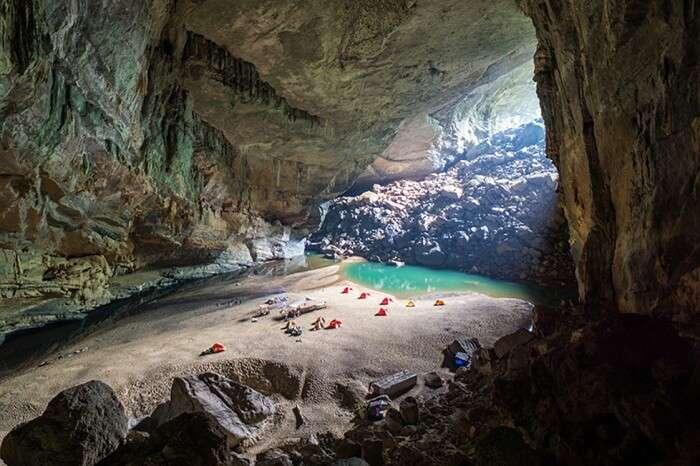 Camping at the Phong Nha Ke Bang National Park