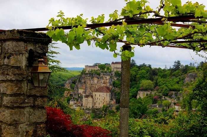 Village Landscape Lot Rocamadour France