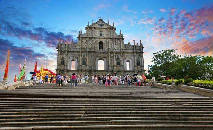 Ruins of St. Pauls is one of the best places to visit in Macau