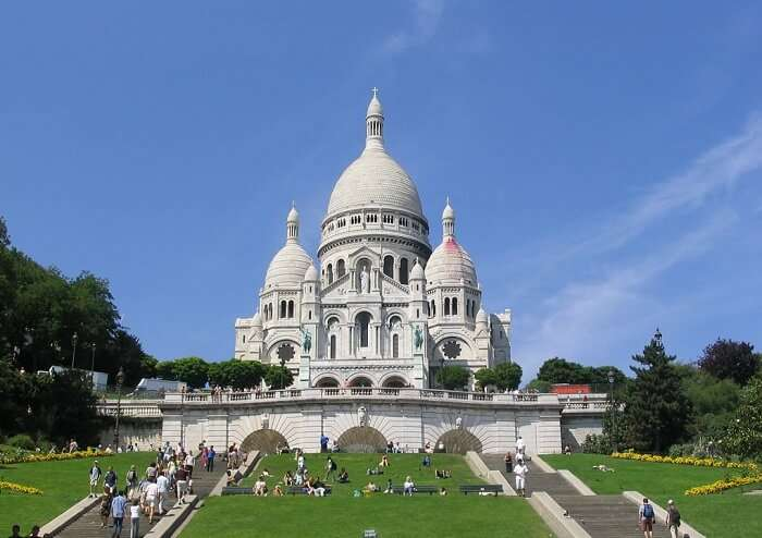 Sacre-Coeur is a gorgeous place to see in Paris
