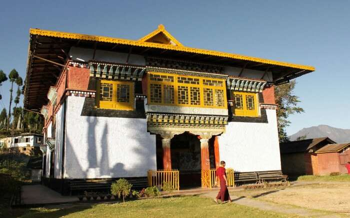 Sangachoeling Monastery is one of the oldest monasteries in Sikkim