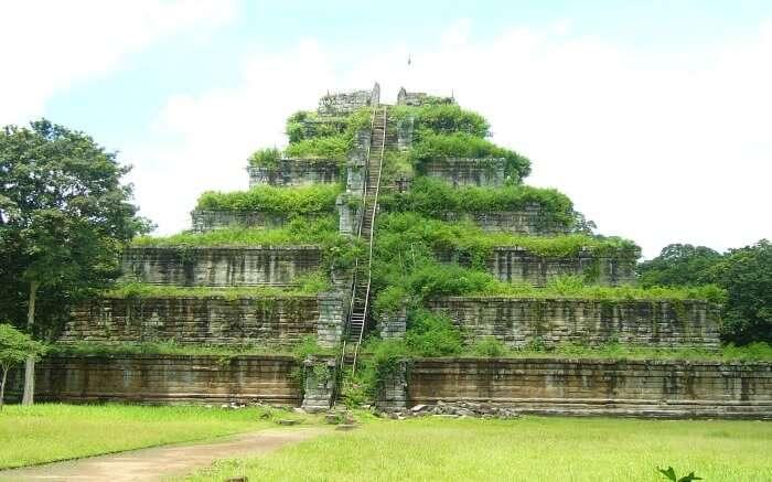 The beautiful Koh Ker temple