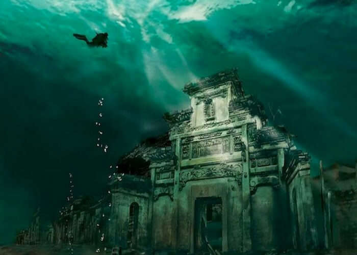 An underwater adventure in China